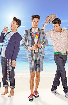 Water World Summer Menswear Collection